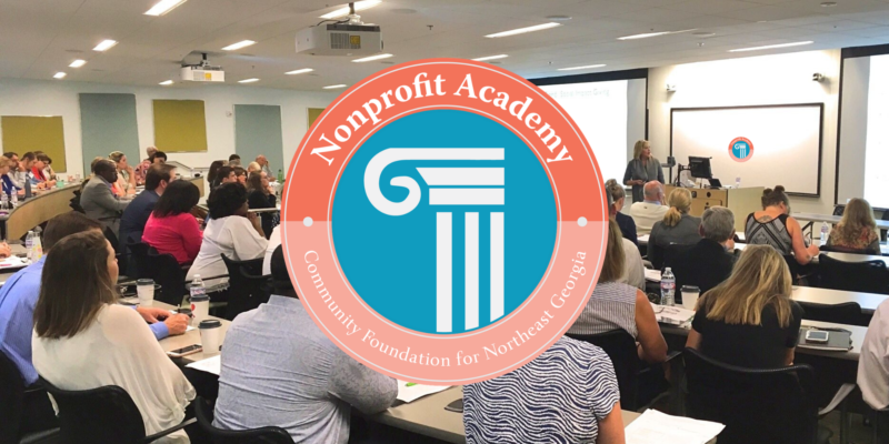 Register now for our Nonprofit Academy: Starting Point!