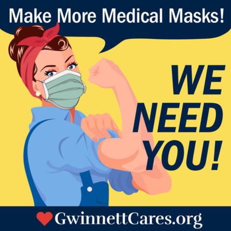 Help Make Masks for Our Hospitals