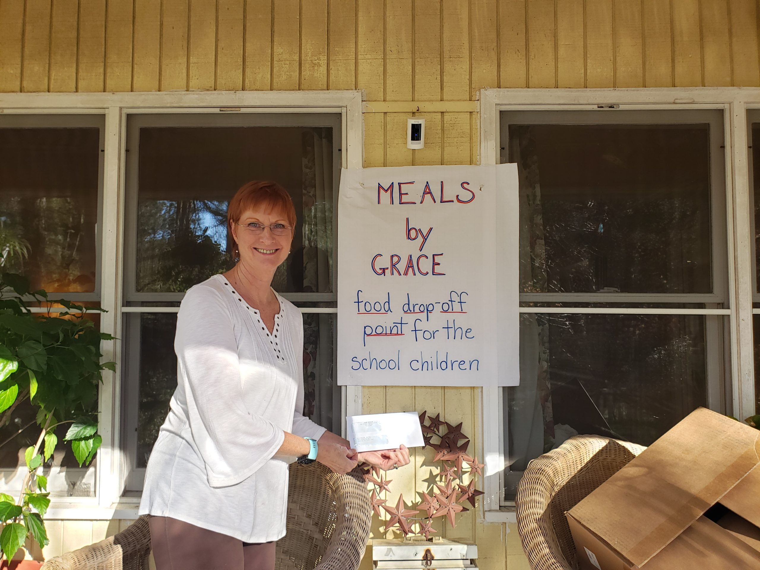 Helping our Community: Meals by Grace