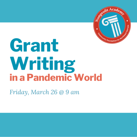 Grant Writing in a Pandemic World