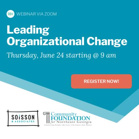 Webinar: Leading Organizational Change