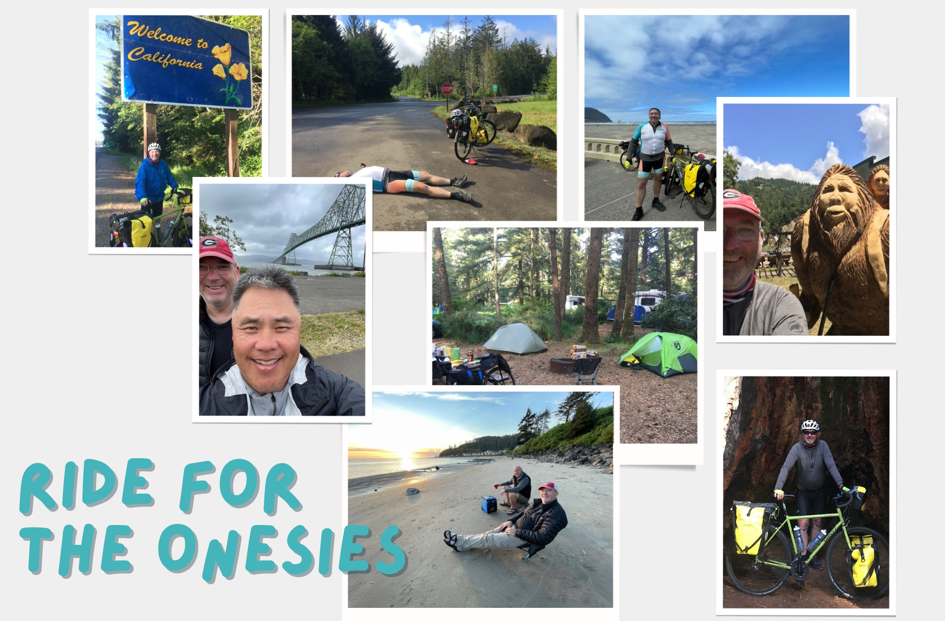 This fundholder cycled over 1,000 miles for a cause